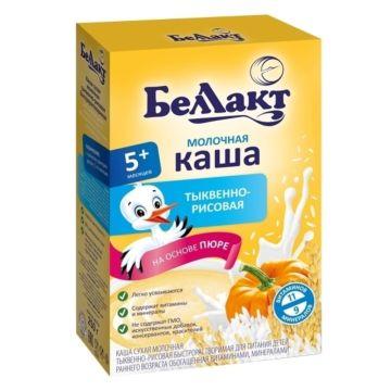 Каша сухая молочная тыквенно-рисовая Беллакт (с 5 мес.) 250 г