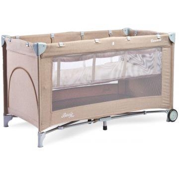 Манеж-кровать Caretero Basic Plus (бежевый)