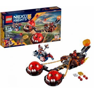 Конструктор Lego Nexo Knights 70314 Нексо Безумная колесница укротителя