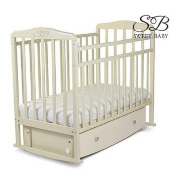 Кроватка детская Sweet Baby Luciano (поперечный маятник) Cammello