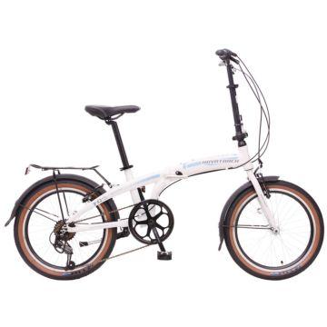 """Велосипед складной Novatrack Shimano 7 20"""" (2016) белый"""