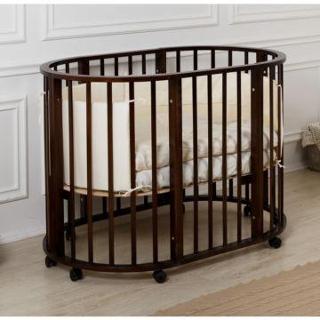 Кроватка-трансформер Incanto Gio 5 в 1 (венге)