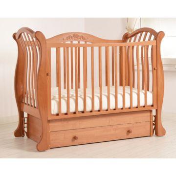 Кроватка детская Гандылян Габриэлла Люкс (универсальный маятник) (вишня)