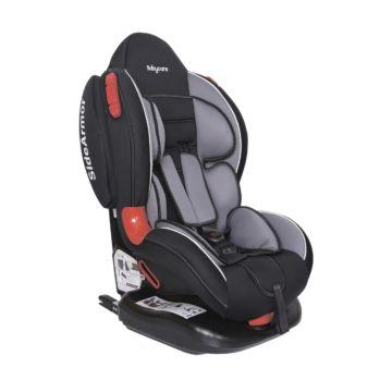 Автокресло Baby Care BC-02 Isofix Люкс (черный/серый)