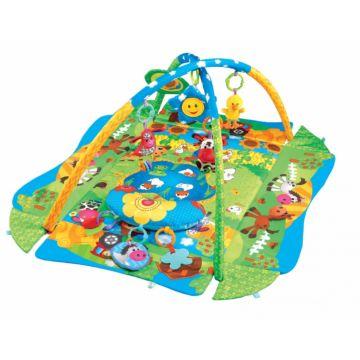 Развивающий коврик Fitch Baby 3 Ways to Play (зеленый)