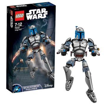 Конструктор Lego Star Wars 75107 Звездные войны Джанго Фетт