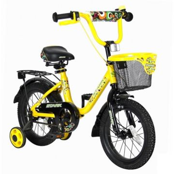 """Детский велосипед Velolider Stark 14"""" Желтый/Черный"""
