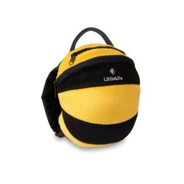 Детский рюкзак LittleLife с поводком (пчелка)