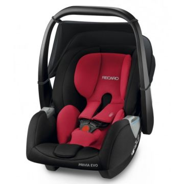 Автолюлька Recaro Privia EVO Racing Red