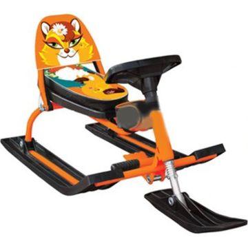 Снегокат Барс Comfort Animals 116 Лиса (оранжевый)