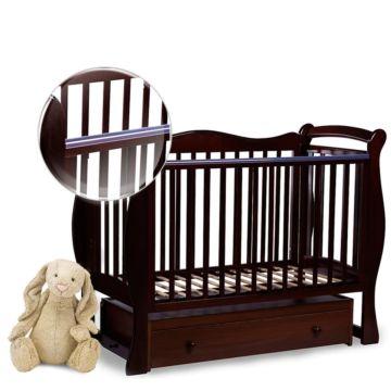 Кроватка детская Sweet Baby Dolce Vita (Поперечный маятник) Cioccolato