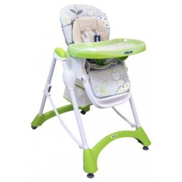 Стульчик для кормления BabyMix Tom (зеленый)