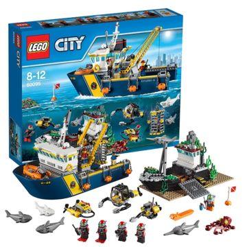 Конструктор Lego City 60095 Город Корабль исследователей морских глубин