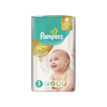 Подгузники Pampers Premium Care Midi (5-9 кг) 60 шт