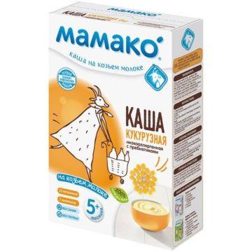 Кукурузная каша Мамако на козьем молоке с пребиотиками (с 5 мес.)