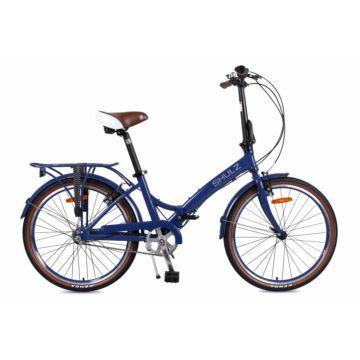 Велосипед складной Shulz Krabi V-brake (2017) темно-синий