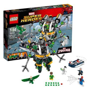 Конструктор Lego Super Heroes 76059 Супер Герои Человек-паук: в ловушке Доктора Осьминога