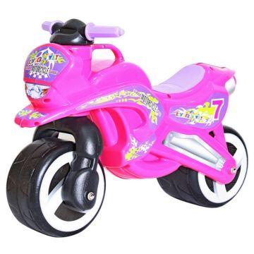 Беговел-мотоцикл RT Motorcycle 7 (розовый)