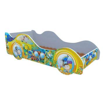 Кровать-машина Кроватка5 Машинки (Субмарина желтая)