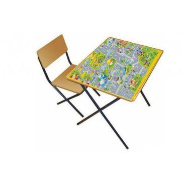 Комплект детской мебели Фея Досуг 301 (ПДД)