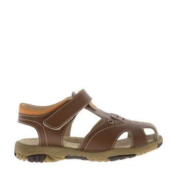 Сандалии детские Kakadu 6101A для мальчиков (коричневые)