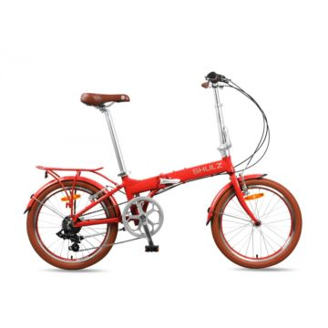 Велосипед складной Shulz Easy (2016) красный
