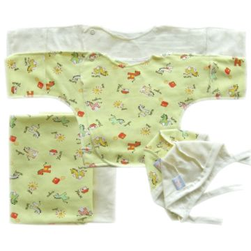 Комплект одежды для малыша Little People принт 6 пр. (желтый)