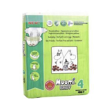 Подгузники MiniMax Muumi Baby Maxi (7-14 кг) 46 шт.