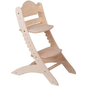 Растущий стул Два Кота М1 нешлифованный