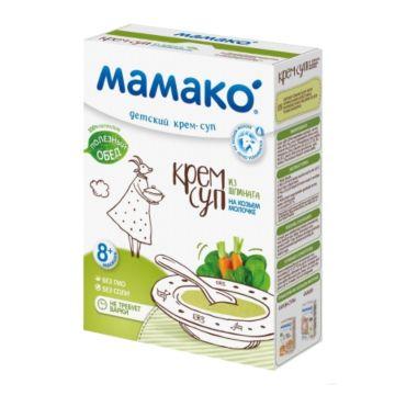 Крем-суп Мамако из шпината на козьем молоке (с 8 мес.)