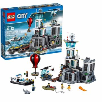 Конструктор Lego City 60130 Город Остров-тюрьма