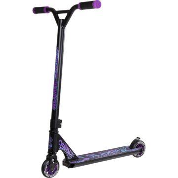 Трюковый самокат Slamm Urban XTRM II Scooter (черный/фиолетовый)