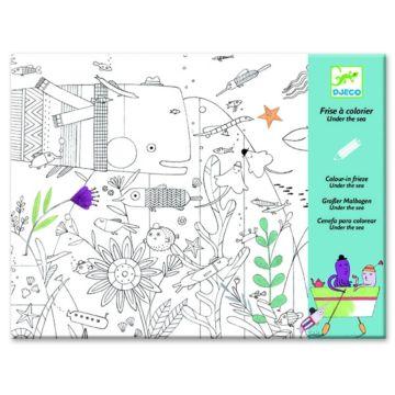 Набор для творчества Djeco Раскраска На дне