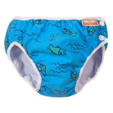 Подгузники-трусики для купания ImseVimse Turquoise Fish