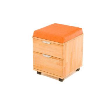 Тумба-пуфик Pondi (оранжевый)
