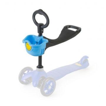 О-руль с сиденьем для самоката Mini (голубой) ДИСКОНТ