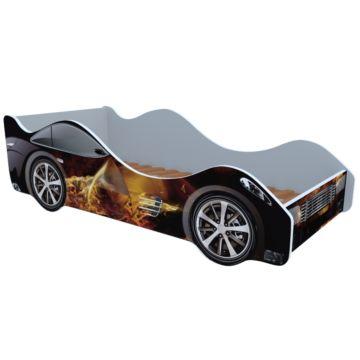 Кровать-машина Кроватка5 Машинки (Огонь)