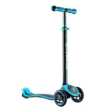 Самокат Globber My free Titanium с блокировкой колес (neon blue)
