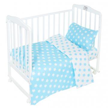Комплект постельного белья Sweet Baby Stelle Turchese (3 предмета, бязь)