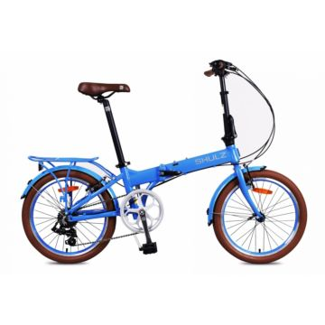 Велосипед складной Shulz Easy (2017) голубой
