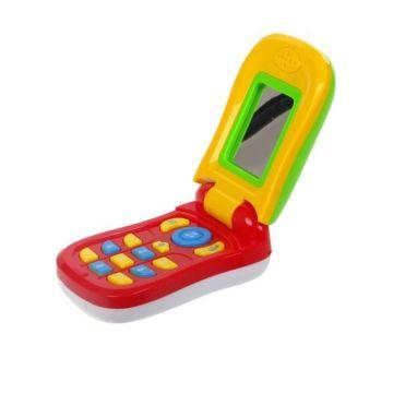 Развивающая игрушка музыкальная S+S Toys Мобильный телефоша (красный)