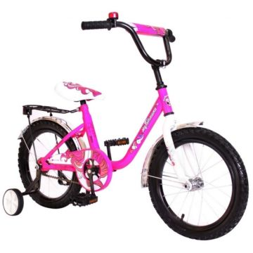 """Детский велосипед RT Мультяшка 1203 14"""" (Розовый)"""