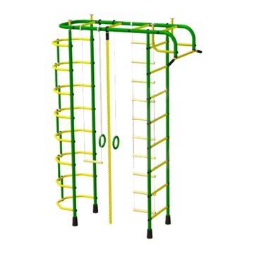 Детский спортивный комплекс Пионер 2 (зелено-желтый)