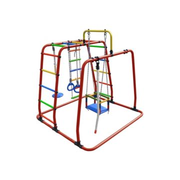 Детский спортивный комплекс Формула Здоровья Игрунок Т Плюс (оранжевый)