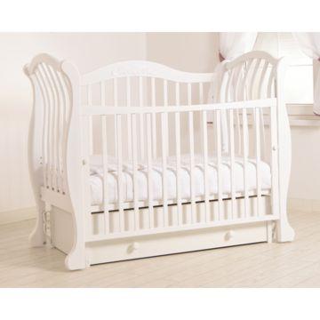 Кроватка детская Гандылян Габриэлла Люкс (универсальный маятник) (белый)
