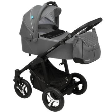 Коляска 2 в 1 Baby Design Lupo Comfort New (серая)