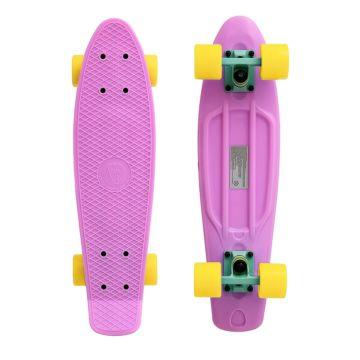 """Мини-круизер Fish Skateboards 22"""" (пастельно-розовый)"""