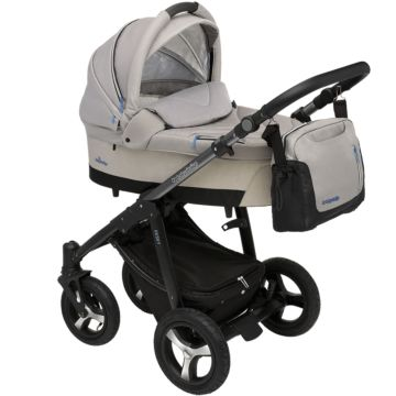 Коляска 2 в 1 Baby Design Husky (серый)