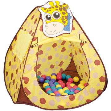 Детская палатка Bony Жираф с шарами