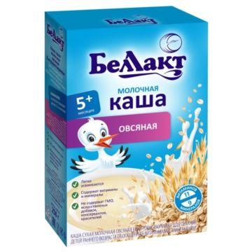Каша сухая молочная овсяная Беллакт (с 5 мес.) 200 г